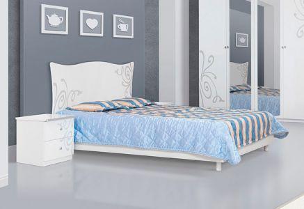 Ліжко Світ меблів ДСП Феліція Нова - Колір на вибір