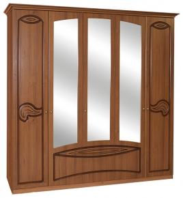 Шкаф 5Д «Тина» орех патина