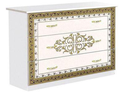 Комод Софія Світ меблів • 104х80,5*46 • Білий + Художній друк