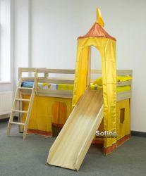 Кровать-горка Игровая 70*190