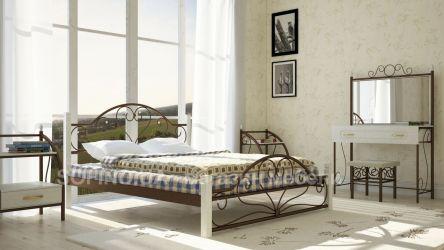 Кровать «Джоконда» деревянные ножки