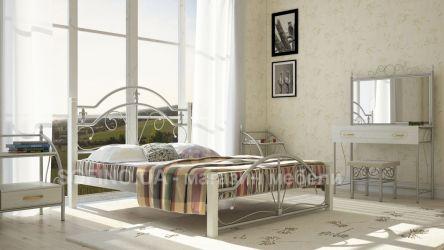 Фото Двуспальная кровать «Диана» деревянные ножки - sofino.ua