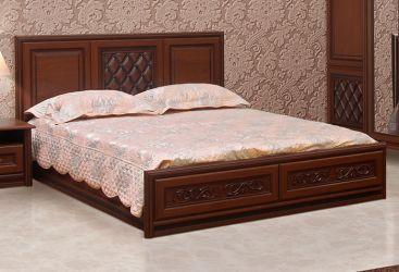 Фото Двуспальная кровать «Ливорно» - sofino.ua