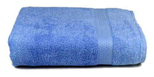 Полотенце голубое 40*70