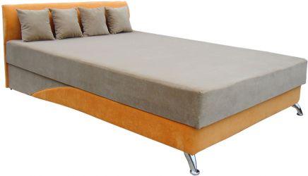 Фото Двуспальная кровать-подиум с матрасом «Сафари» - sofino.ua