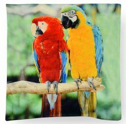 Наволочка декоративная «Попугай»