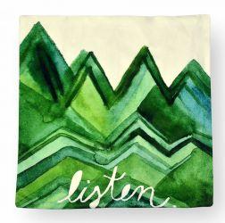 Наволочка декоративная «Зеленые горы»