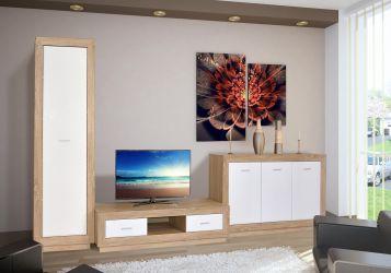 Стенка ТВ «Клео» белый
