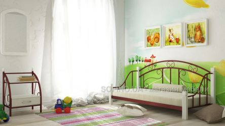 Фото Односпальная кровать «Орфей» - sofino.ua