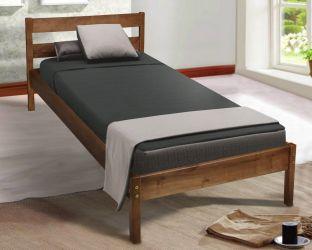 Кровать односпальная «SKY-1» | коньяк 80*190