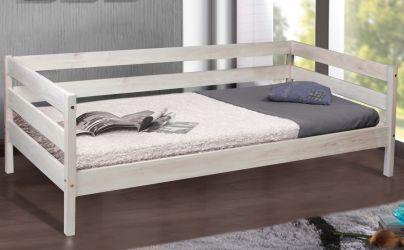 Кровать детская «SKY-3» 80*190 | беленый дуб