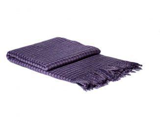 Плед «TORINO» 140*200 | фиолетовый