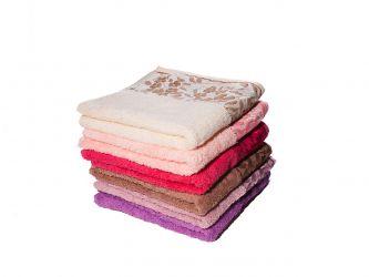 Набор махровых полотенец «P.Sarmasik» 50*90 | 6 шт.