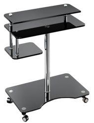Компьютерный стол «Р1» (Прозрачный)