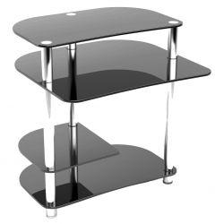 Компьютерный стол «Р3» (Прозрачный)