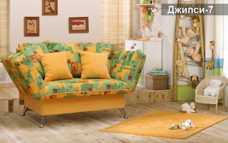 Фото Диван-кровать «Джипси-7»  Клик-клак - sofino.ua