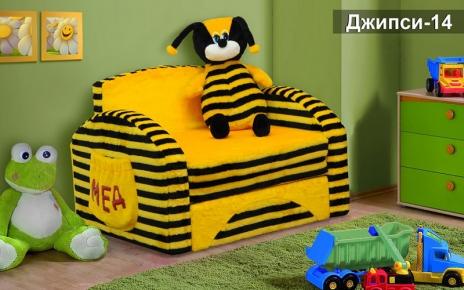 Фото Кресло-кровать детское «Джипси-14» - sofino.ua