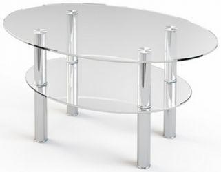 Журнальный стол «JTO 002» 90*60 (Прозрачный)