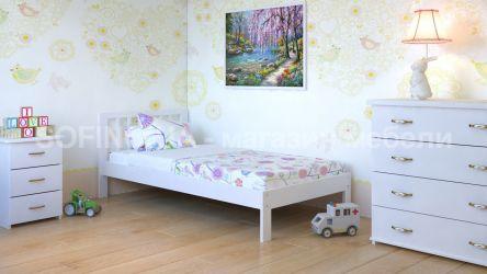 Кровать детская Медея Мини - 70*190 | Белый
