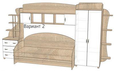 Детская комната «Д1/2Р» меламин
