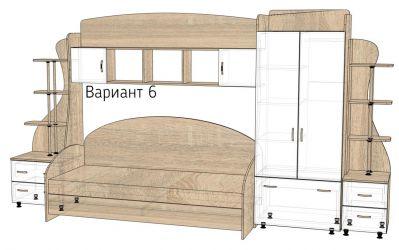 Детская комната «Д1/6Р» меламин