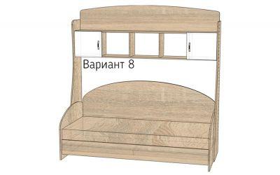 Детская комната «Д1/8Р» меламин