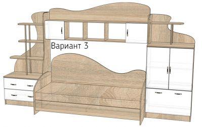Кровать-горка «Д2/3» меламин