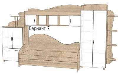 Кровать-горка «Д2/7Р» меламин