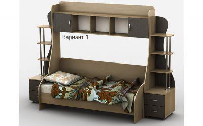 Кровать-горка «Д3/1Р» меламин