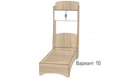 Кровать-горка «Д4/10Р» меламин