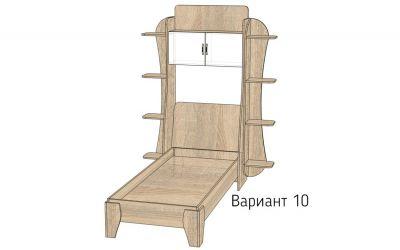 Кровать-горка «Д5/10» меламин