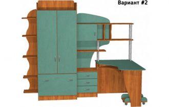 Фото Детская комната «Д22/2» - sofino.ua