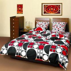 Комплект «Круг красно-черный 531» полуторный