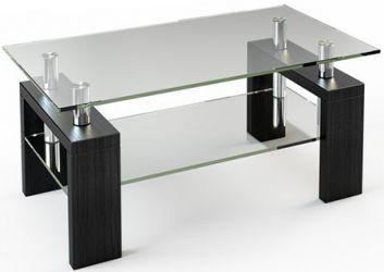 Журнальный стол «JTS 008» 110*63,5 (Прозрачный)