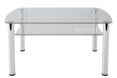 Журнальный стол «JTS 014» 90*60 (Прозрачный)