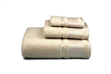 Полотенце махровое 127258 «Bamboo» 50*90 | Бежевый