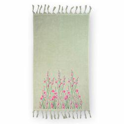 Полотенце велюровое 126239 «Spring» 50*85 | Мятный