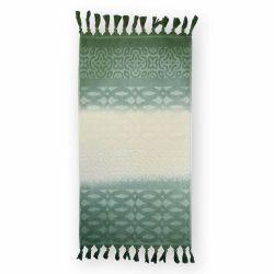 Полотенце махровое 126254 «Ocean» 50*85 | Зеленый