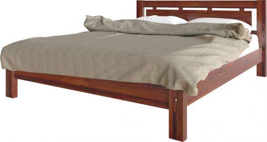 Фото Кровать деревянная «Олимпия» массив сосны - sofino.ua