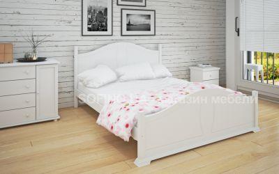 Кровать двуспальная Изидора | л-203 | 140*200 | белый