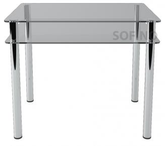 Стол обеденный «S4» 91*61 (Прозрачный)