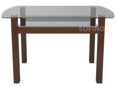 Стол обеденный «SW7» 110*70 (Прозрачный)