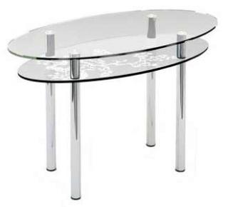 Стол обеденный «O3» 120*60 (Матирование)
