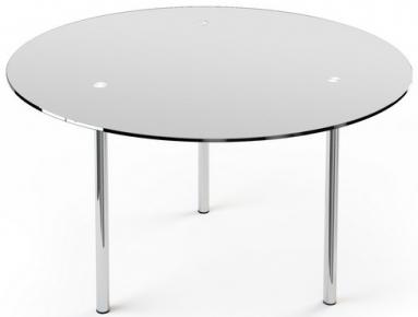 Стол обеденный «R1» D 90 (Матирование)
