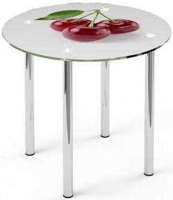 Стол обеденный «R3» D 90 (Рисунок)