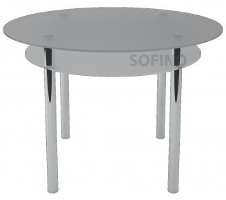 Стол обеденный «R4» D 90 (Матирование)