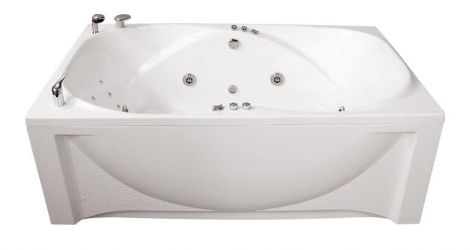 Ванна акриловая «Атлант» без гидромассажа 205*120 ТР