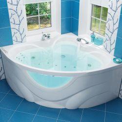 Ванна акриловая «Виктория» с гидромассажем | 150*150 ТР