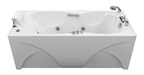 Ванна акриловая «Цезарь» без гидромассажа 180*80 ТР
