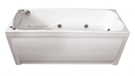 Ванна акриловая «Чарли» без гидромассажа 150*70 ТР